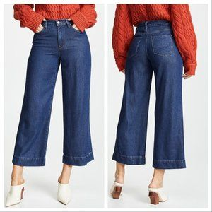 NWT Hudson Holly High Rise Wide Leg Crop Jeans 27